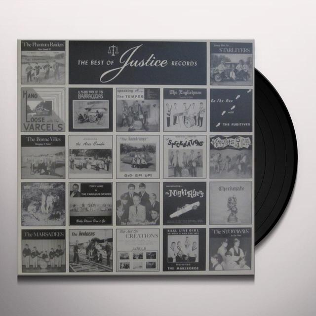 BEST OF JUSTICE RECORDS / VARIOUS Vinyl Record