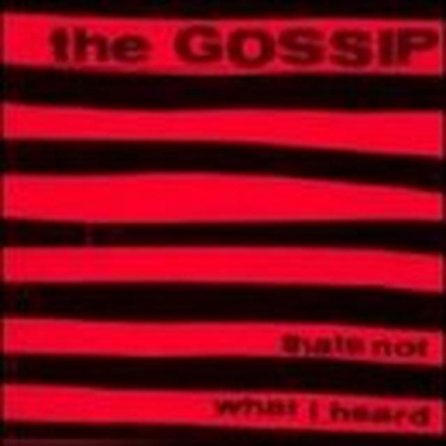 Gossip THAT'S NOT WHAT I HEARD Vinyl Record - Reissue