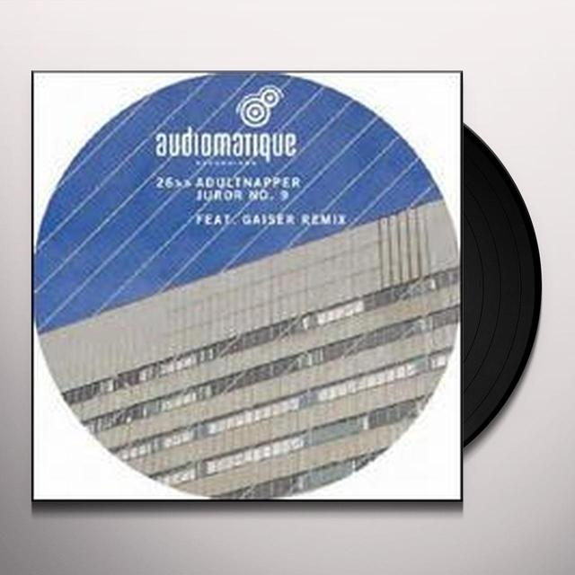 Adultnapper JUROR NO. 9 (EP) Vinyl Record