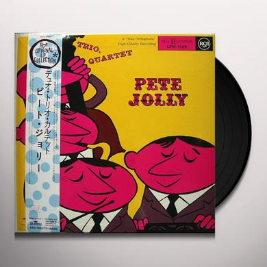 Pete Jolly DUO TRIO QUARTET Vinyl Record