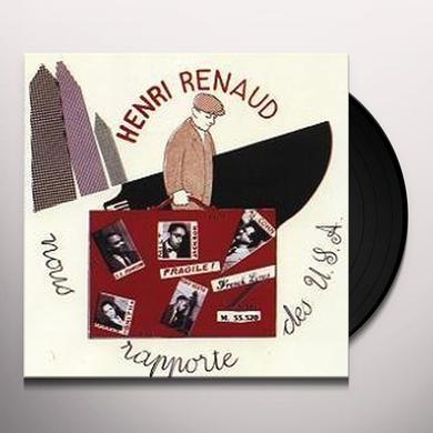 Henri Renaud ALLSTARS VOL 1 Vinyl Record - Limited Edition, Japan Import