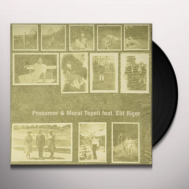 Prosumer & Murat Tepeli TURN AROUND (EP) Vinyl Record
