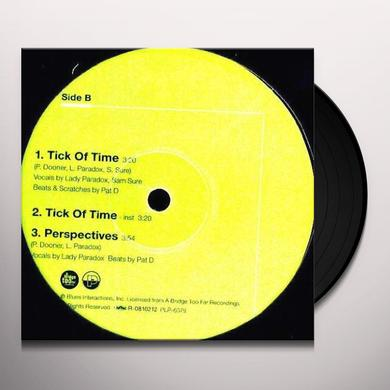 Pat D & Lady Paradox TICK OF TIME Vinyl Record