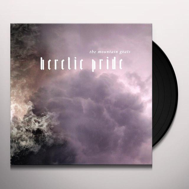 The Mountain Goats HERETIC PRIDE Vinyl Record