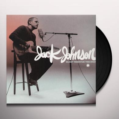 Jack Johnson SLEEP THROUGH THE STATIC Vinyl Record
