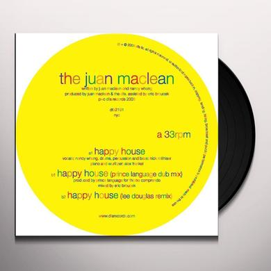 Juan Maclean HAPPY HOUSE Vinyl Record