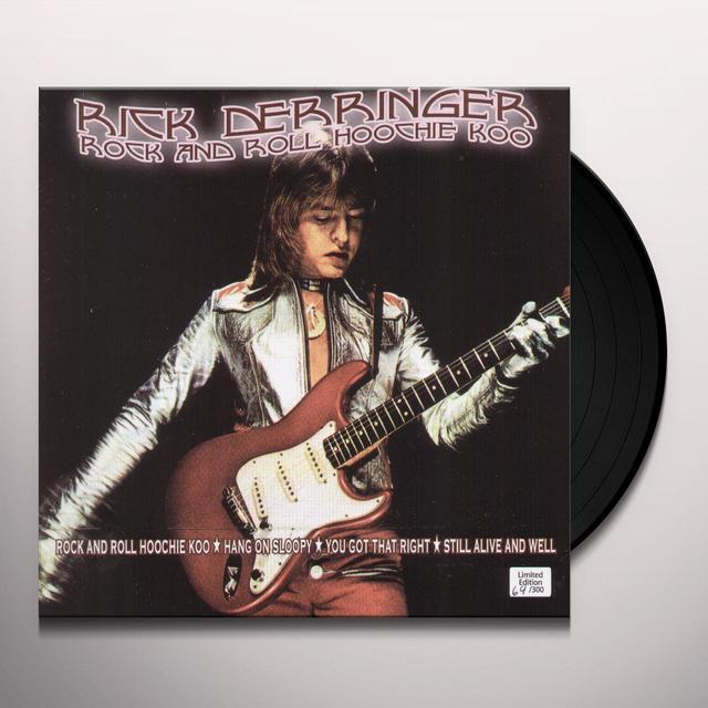 Rick Derringer RICK RICK & ROLL HOOCHIE KOO Vinyl Record