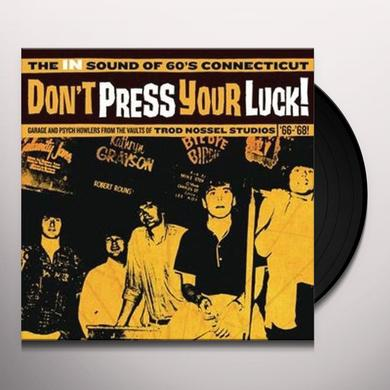 DON'T PRESS YOUR LUCK / VARIOUS Vinyl Record