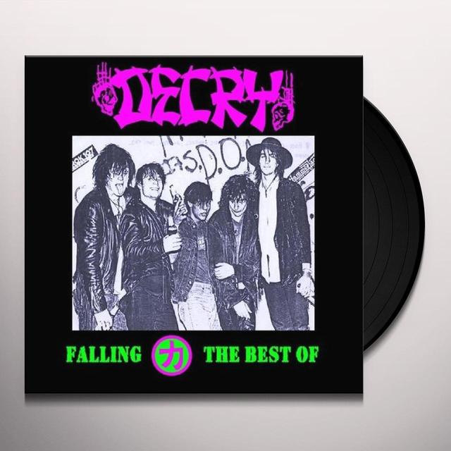 Decry FALLING: BEST OF Vinyl Record