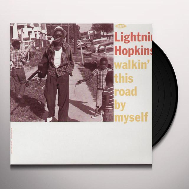 Lightnin' Hopkins on Spotify WALKIN' THIS ROAD BY MYSELF Vinyl Record