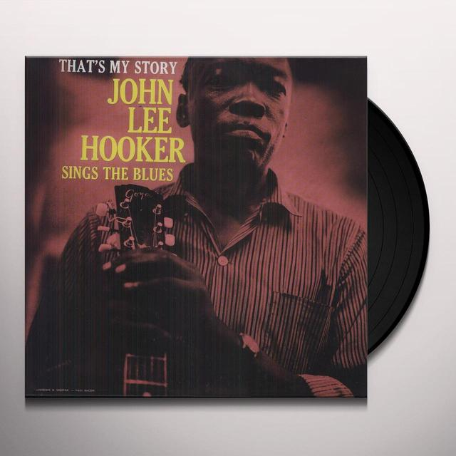 John Lee Hooker THAT'S MY STORY Vinyl Record - UK Import