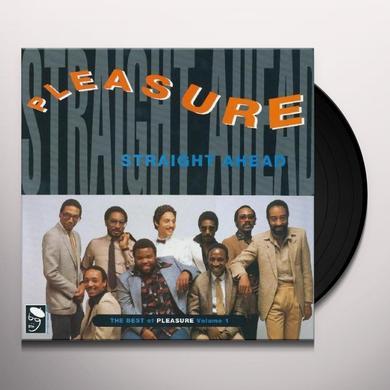 STRAIGHT AHEAD: BEST OF PLEASURE VOL 1 Vinyl Record - UK Import