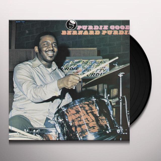 Bernard Purdie PURDIE GOOD Vinyl Record - UK Import