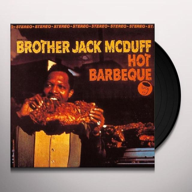Jack Mcduff HOT BARBEQUE Vinyl Record - UK Import