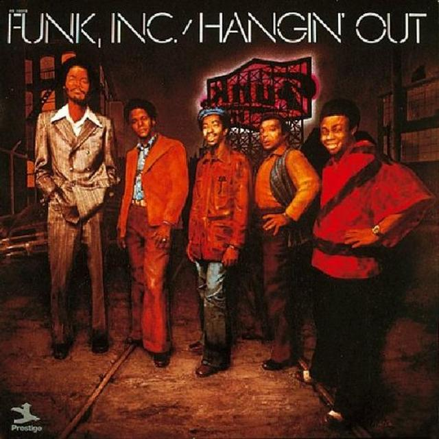 Funk Inc HANGIN' OUT Vinyl Record - UK Import