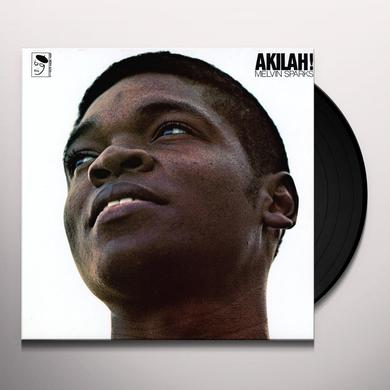 Melvin Sparks AKILAH Vinyl Record - UK Import