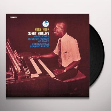 Sonny Phillips SURE 'NUFF Vinyl Record