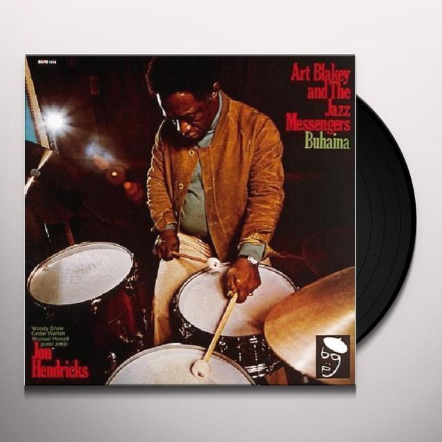 Art Blakey BUHAINA Vinyl Record - UK Import