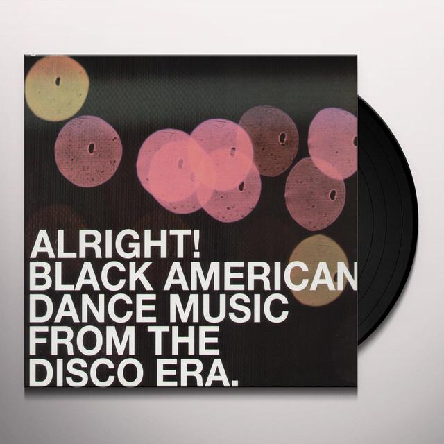 ALRIGHT! BLACK AMERICAN DANCE MUSIC FROM DIS / VAR Vinyl Record