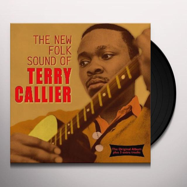 Terry Callier NEW FOLK SOUND OF Vinyl Record - UK Import