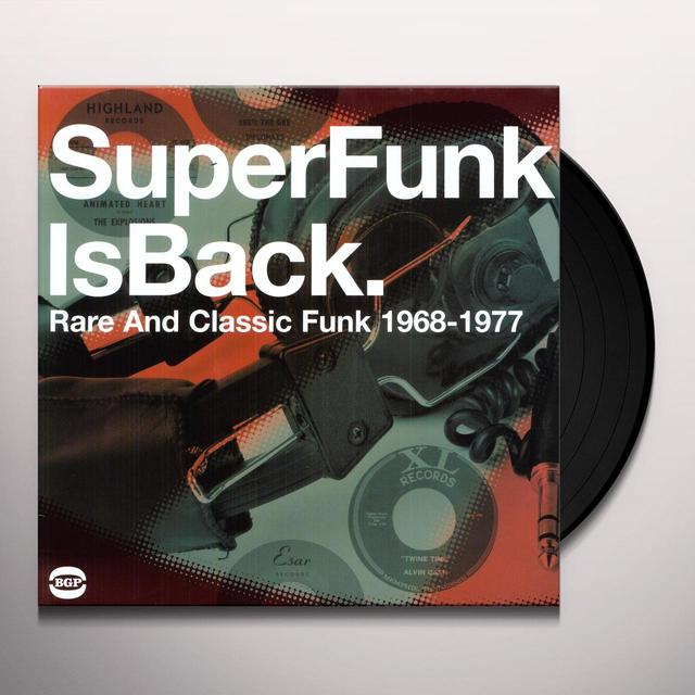SUPER FUNK IS BACK VOL 5: RARE & CLASSIC FUN / VAR Vinyl Record