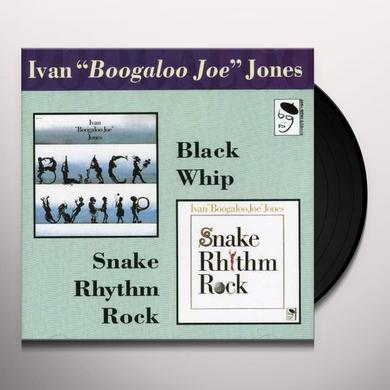 Ivan Jones SNAKE RHYTHM ROCK/BLACK WHIP Vinyl Record - UK Import