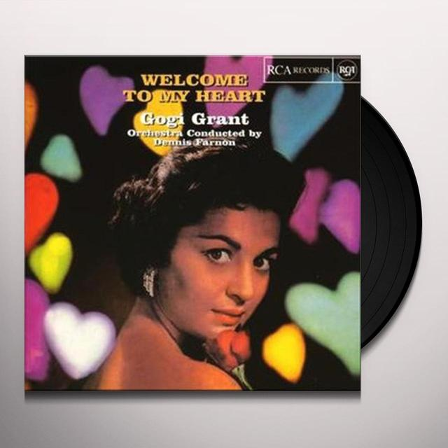 Gogi Grant WELCOME TO MY HEART Vinyl Record - Limited Edition, Japan Import