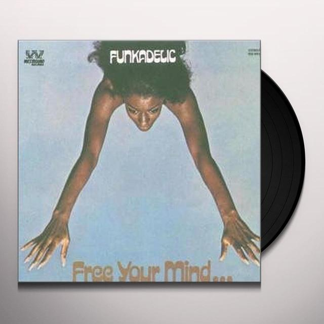 Funkadelic FREE YOUR MINDAND YOUR ASS WILL FOLLOW Vinyl Record - UK Import