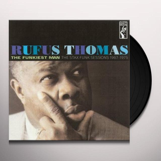 Rufus Thomas FUNKIEST MAN Vinyl Record