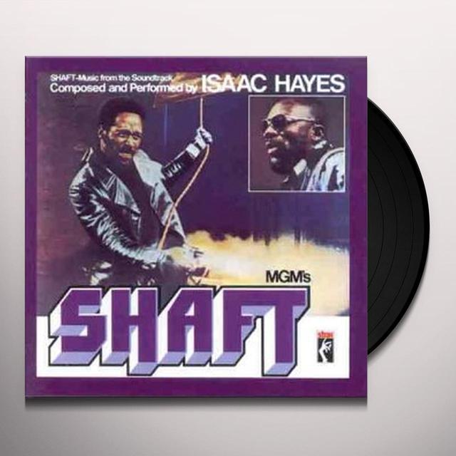 Isaac Hayes SHAFT OST Vinyl Record - UK Import