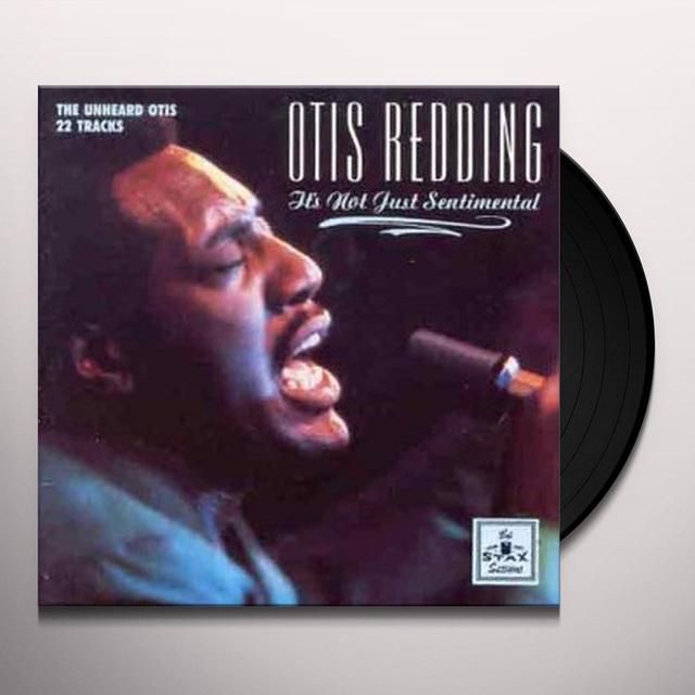 Otis Redding IT'S NOT JUST SENTIMENTAL Vinyl Record - UK Import