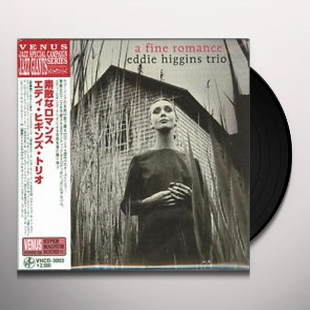 Eddie Higgins FINE ROMANCE Vinyl Record - Japan Import