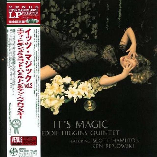 Higgins,Eddie& Scott Hamilton ITS MAGIC 2 Vinyl Record - Japan Import