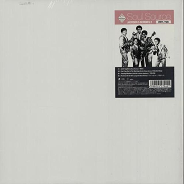 JACKSON 5 REMIXES/VINYL TW0 / VAR Vinyl Record - Japan Import