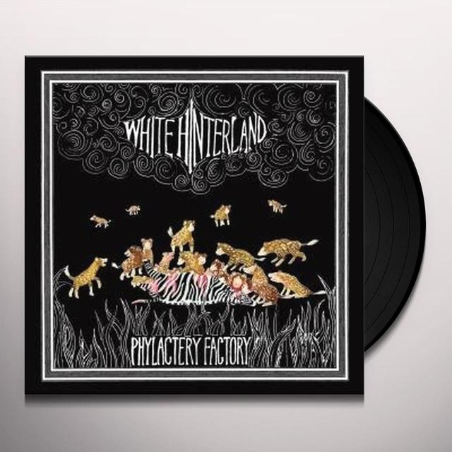 White Hinterland PHYLACTERY FACTORY Vinyl Record