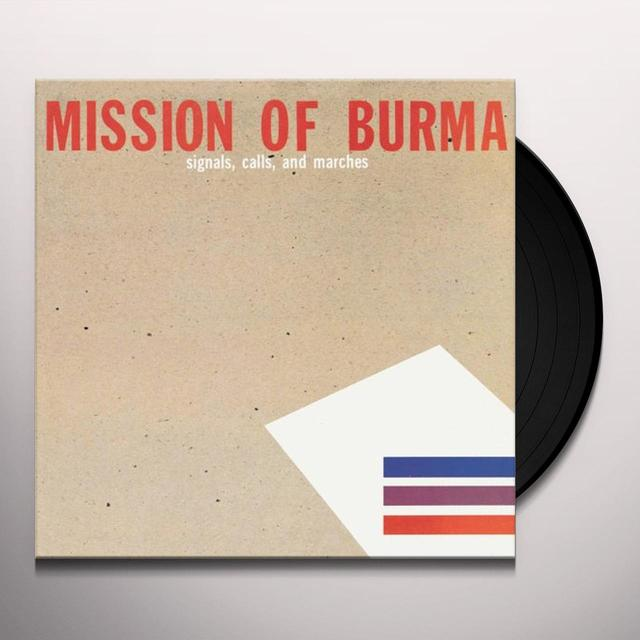 Mission Of Burma SIGNALS CALLS AND MARCHES: THE DEFINITIVE EDITION Vinyl Record