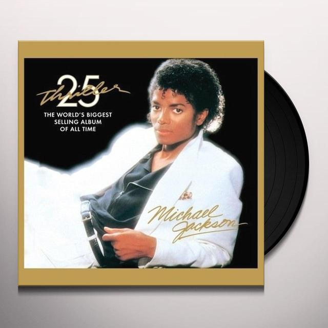 Michael Jackson THRILLER: 25TH ANNIVERSARY EDITION Vinyl Record - Anniversary Edition