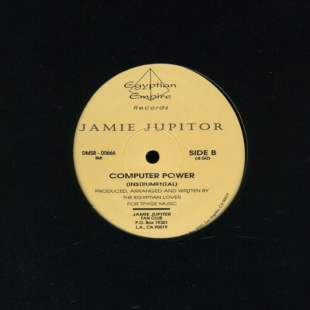 Jamie Jupiter COMPUTER POWER Vinyl Record