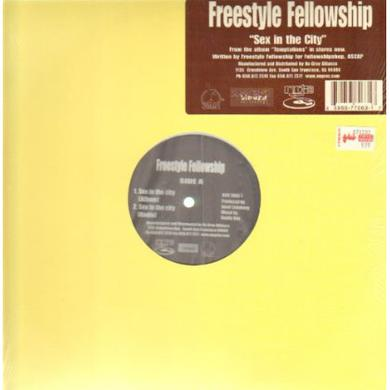 Freestyle Fellowship SEX IN THE CITY Vinyl Record