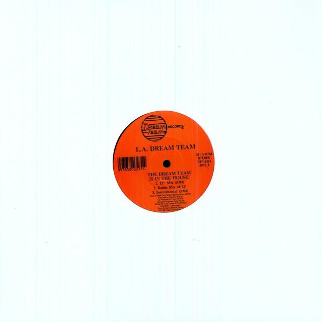 La Dream Team IN THE HOUSE Vinyl Record