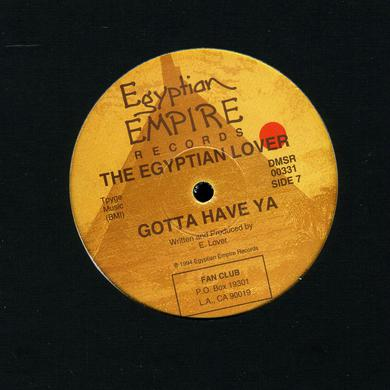 Egyptian Lover BOUNCE THAT BOOTIE Vinyl Record