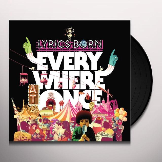 Lyrics Born EVERYWHERE AT ONCE Vinyl Record
