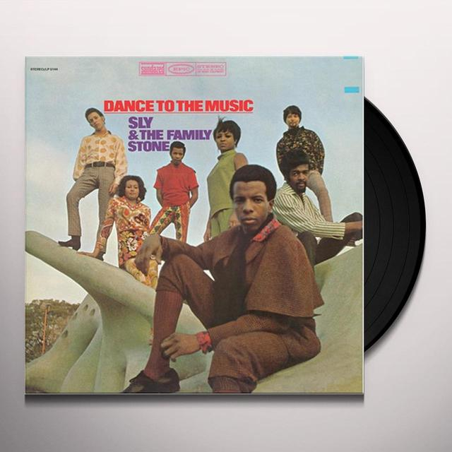 Sly & The Family Stone DANCE TO THE MUSIC Vinyl Record