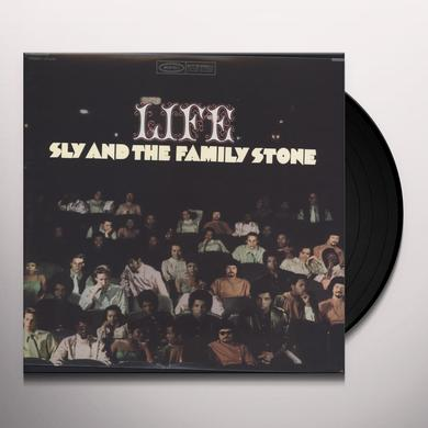 Sly & The Family Stone LIFE Vinyl Record