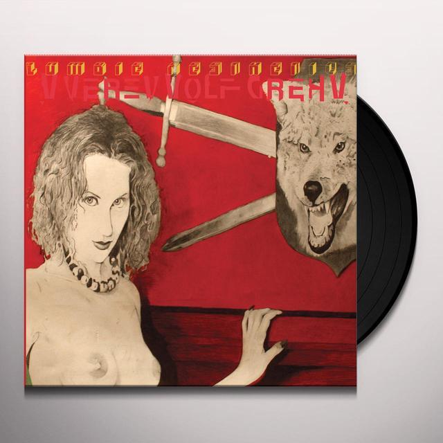 Vverevvolf Grehv ZOMBIE AESTHETICS Vinyl Record