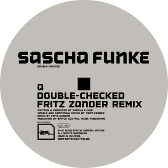 Sascha Funke DOUBLE-CHECKED Vinyl Record - Remix
