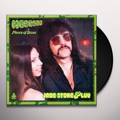 Jade Stone & Luv MOSAICS: PIECES OF STONE Vinyl Record - Reissue