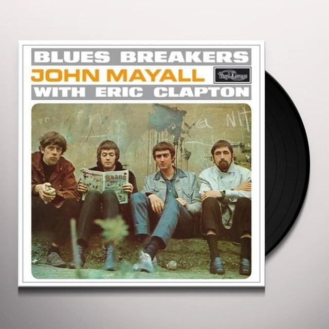 John Mayall & The Bluesbreakers BLUESBREAKERS WITH ERIC CLAPTON Vinyl Record