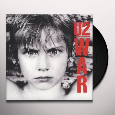 U2 WAR Vinyl Record