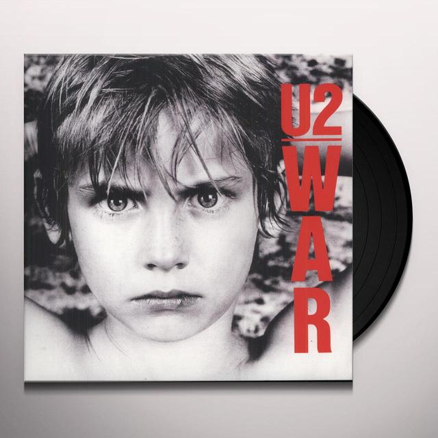 U2 WAR Vinyl Record - Remastered